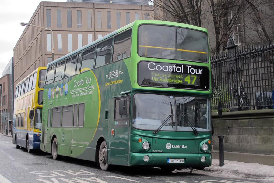 47 bus route dublin